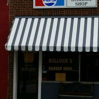 Photo taken at Bullock's Barber Shop by Steve S. on 6/27/2015