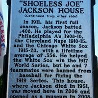 Photo taken at Shoeless Joe Jackson Museum and Baseball Library by Steve S. on 10/30/2015
