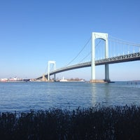 Photo taken at Throgs Neck Bridge by mr noodle™ on 11/17/2012