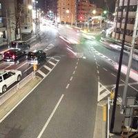 Photo taken at 北原交差点 by Susumu I. on 1/18/2014
