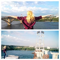 Photo taken at Новый мост) by Gluka on 7/16/2014