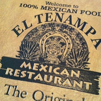 Photo taken at El Tenampa Mexican Restaurant by Juan N. on 3/9/2013