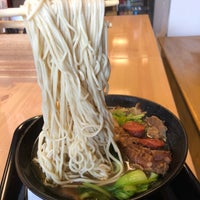 Photo taken at Xin Taste Lan Zhou Hand Pull Noodle by Mike C. on 12/8/2017