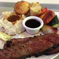 Photo taken at Buckhorn Grill by Brian B. on 7/20/2013