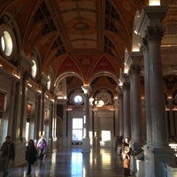 Photo taken at Library of Congress - John Adams Building by André Ricardo T. on 11/10/2013