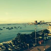 Photo taken at Vela e Mar Hotel Fortaleza by Marcelo R. on 6/12/2014