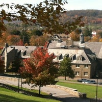 Photo taken at James B. Colgate Hall - Admissions Office by TheEducationDoc on 10/17/2012