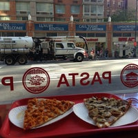 Photo taken at Famous Amadeus Pizza - Hell's Kitchen by Ryan on 9/4/2013