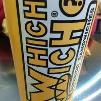 Photo taken at Which Wich? Superior Sandwiches by Ramjee P. on 11/24/2013