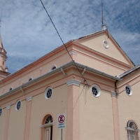 Photo taken at Igreja Santo Antônio by Cristiano R. on 1/12/2014