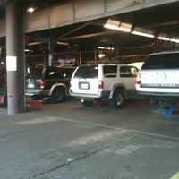 Photo taken at Gateway Tire and Service Center by Gordon S. on 2/5/2013