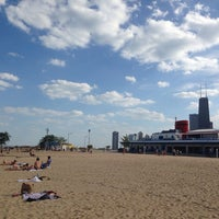 Photo taken at North Avenue Beach by Pamela C. on 9/28/2013