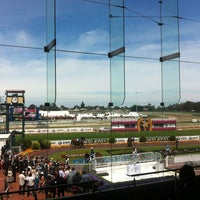 Photo taken at Caulfield Racecourse by Jaclyn H. on 10/20/2012