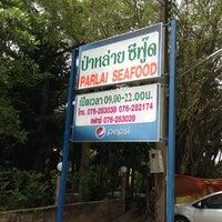 Photo taken at Pa Lai Seafood Restaurant by sriprapa k. on 5/11/2013
