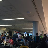 Photo taken at Gate C137 by Patrick K. on 7/19/2015