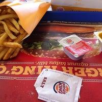 Photo taken at Burger King by Ali✅ ✔. on 5/17/2014