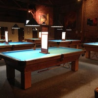 Photo taken at South First Billiards by Amanda L. on 11/24/2012