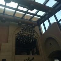 Photo taken at Al Bindaira Café by Bader on 4/9/2014
