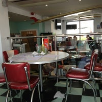 Photo taken at Woodies Longboard Diner by Barry G. on 8/25/2013