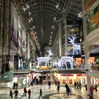 Photo taken at CF Toronto Eaton Centre by Barry G. on 1/1/2013