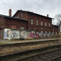 Photo taken at Bahnhof Seelow (Mark) by Michael J. on 1/30/2016