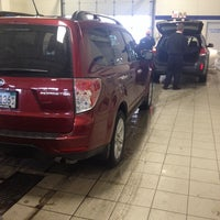 Photo taken at Morrie's Brooklyn Park Nissan by Shaun W. on 1/3/2014