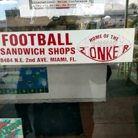 Photo taken at Football Sandwich Shop by William S. on 2/9/2017