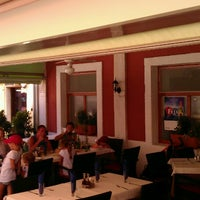 Photo taken at Restaurant Brancin Rovinj by Igor K. on 7/31/2013