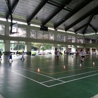 Photo taken at forbes park basketball court by Kerwin K. on 7/16/2013