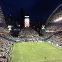 Photo taken at CenturyLink Field by Zach T. on 8/26/2013