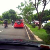 Photo taken at Jalan Ir. H. Juanda by Herry B. on 7/17/2014