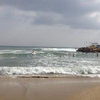 Photo taken at Pernera Beach by Maria N. on 10/21/2012