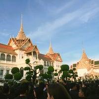 Foto tomada en Dusit Maha Prasat Throne Hall por Natthida C. el 6/17/2017