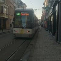 Photo taken at Tram 4 | Gent UZ > Gentbrugge Moscou by Ercan A. on 1/21/2016