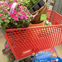 Photo taken at Lowe's Home Improvement by Meg J. on 5/4/2013