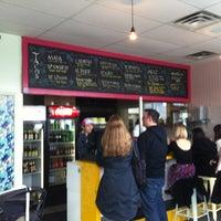 Photo taken at La Taqueria Pinche Taco Shop by Leif J. on 1/25/2013