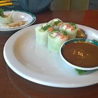 Photo taken at Kaosamai Thai Restaurant & Caterer's by James G. on 4/13/2014
