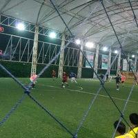 Photo taken at Football Field Happy Condo by Artit U. on 2/1/2014