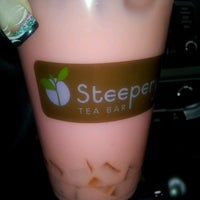 Photo taken at Steepery Tea Bar by Krystal C. on 4/18/2013