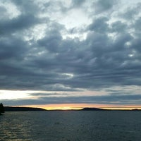 Photo taken at Vesijärvi by Gennadiy T. on 7/5/2015