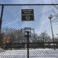 Photo taken at Rucker Park Basketball Courts by Tru Z. on 2/10/2017