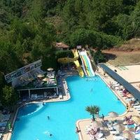 Photo taken at Kervansaray Marmaris Hotel & Spa by Çisem Ç. on 7/1/2015