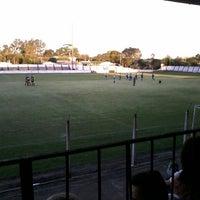 Photo taken at Estádio, Grêmio Esportio Pedro Osório ( GEPO ) by Felipe L. on 10/22/2014