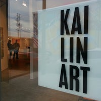 Photo taken at Kai Lin Gallery by Isaac S. on 3/22/2013