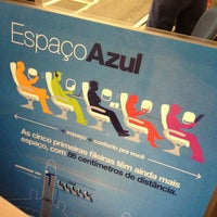 Photo taken at Check-in Azul by    Diogo R. on 3/13/2013