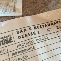 Photo taken at Bar e Restaurante Denise I by    Diogo R. on 4/21/2016