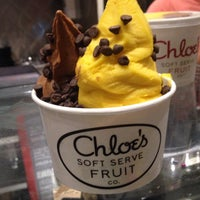 Photo taken at Chloe's Soft Serve Fruit Co. by Lauren R. on 6/26/2014