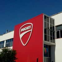 Photo taken at Ducati Motor Factory & Museum by Ayako H. on 9/20/2012