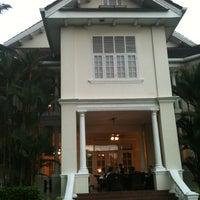 Photo taken at Carcosa Seri Negara by Chong C. on 1/27/2013