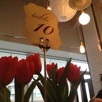 Photo taken at Tatte Bakery & Café by elle w. on 1/28/2013